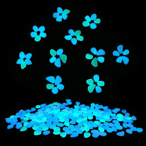 Glow in the Dark Garden Pebbles (100 pcs)