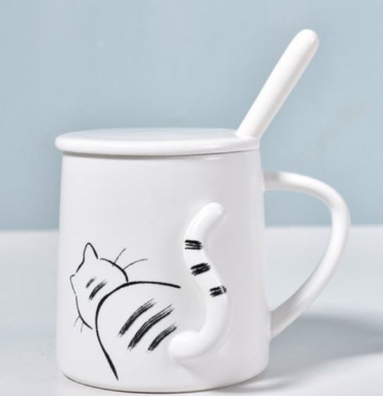 Cute Fashion Cat Mug cat tail Premium quality