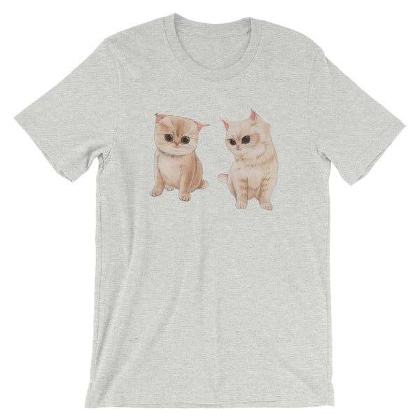 Short-Sleeve Unisex T-Shirt Twin Cat