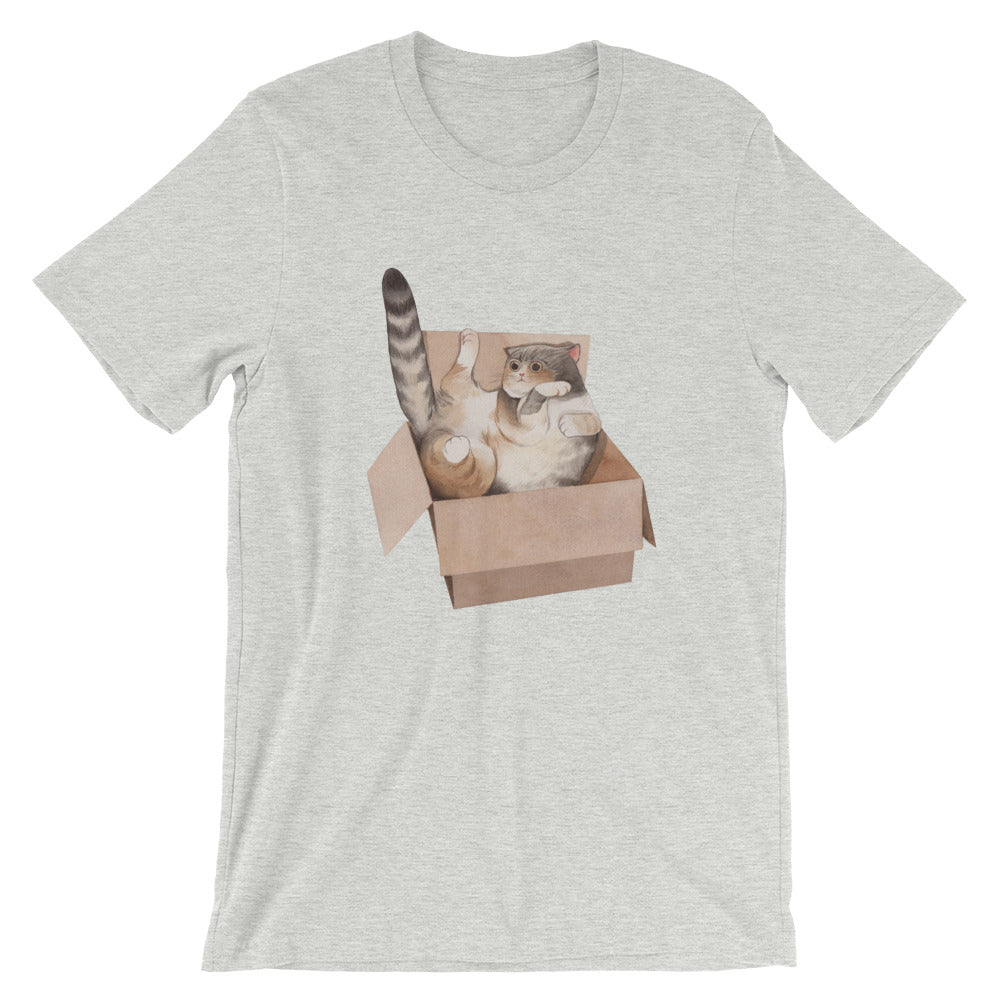 Short-Sleeve Unisex T-Shirt Keai Cat 02
