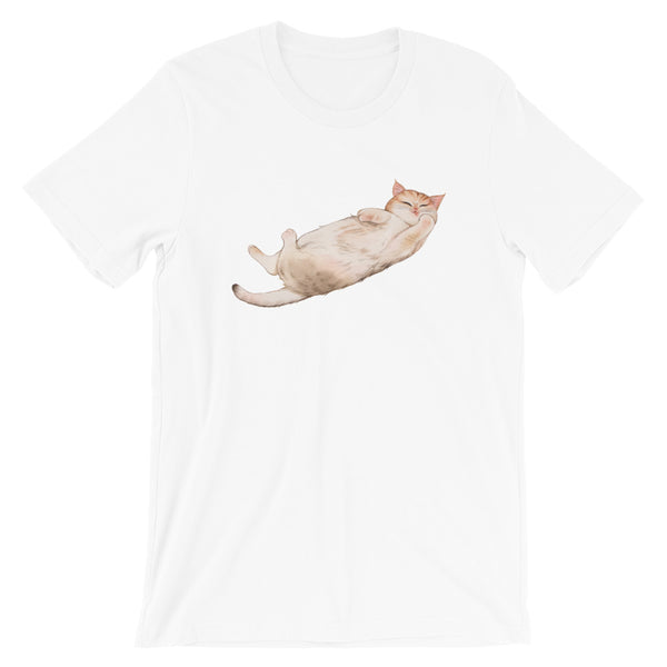 Short-Sleeve Unisex T-Shirt Ummy Cat 02