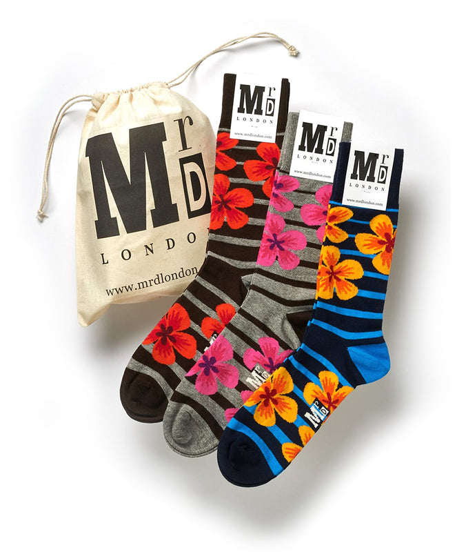 Floral Sock Pack - Multi 1
