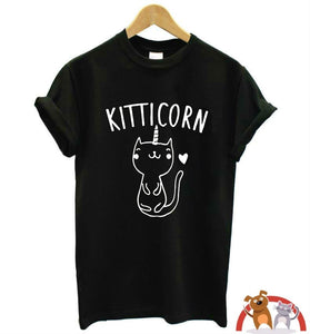 T-shirt Kitticorn 100% coton