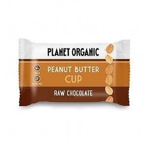 15 X Planet Organic Peanut Butter Cup 25g
