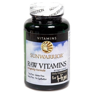 Raw Vitamins For Him 90 V-Caps
