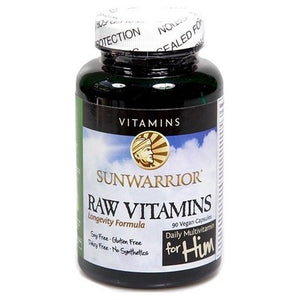4 x Raw Vitamins For Him 90 V-Caps