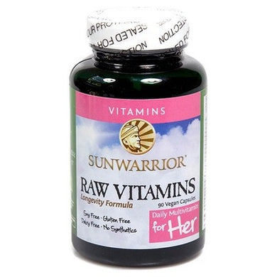 Raw Vitamins For Her 90 V-Caps