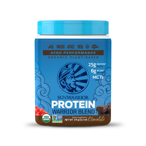 3 X Warrior Blend Organic Chocolate Protein