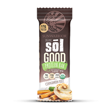 Sol Good Organic Protein Bar Cinnamon Roll 67 Grams x 12