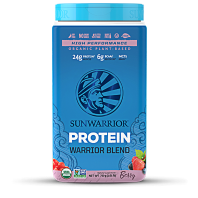 3 X Warrior Blend Organic Berry Protein