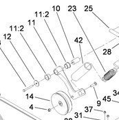 112-2588 - Reference Number 11 - Idler Arm
