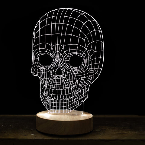 Skull 3D Illusion Light