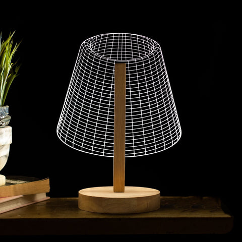 Traditional 3D Illusion Light