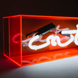 """Cute"" Acrylic Box Neon Light"