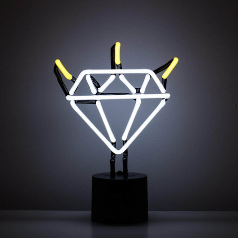 Diamond Neon Desk Light