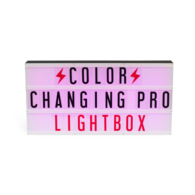 Professional Colour-Changing Lightbox