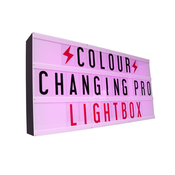 Professional Color-Changing Lightbox