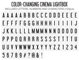 The Original Cinema Lightbox (Colour Changing)