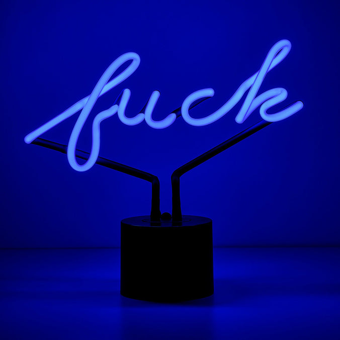 Fuck Neon Desk Light