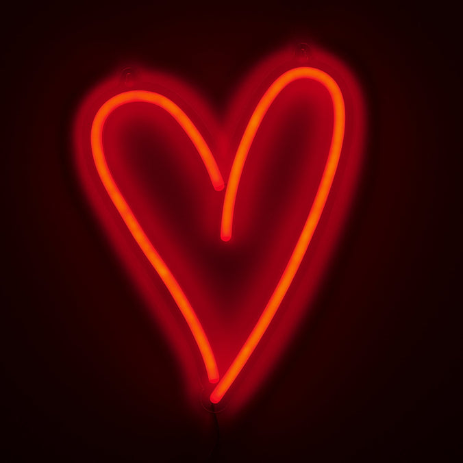 Heart LED Wall Light