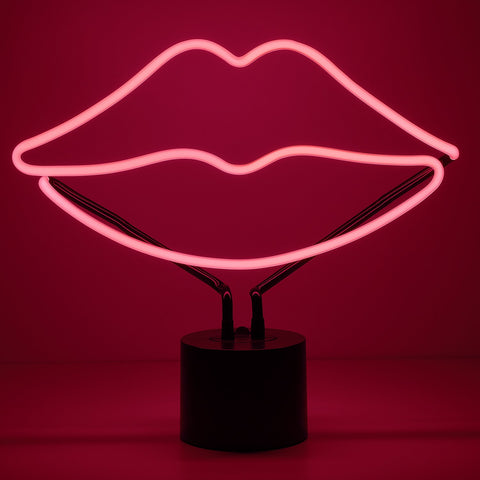 Lips Neon Desk Light