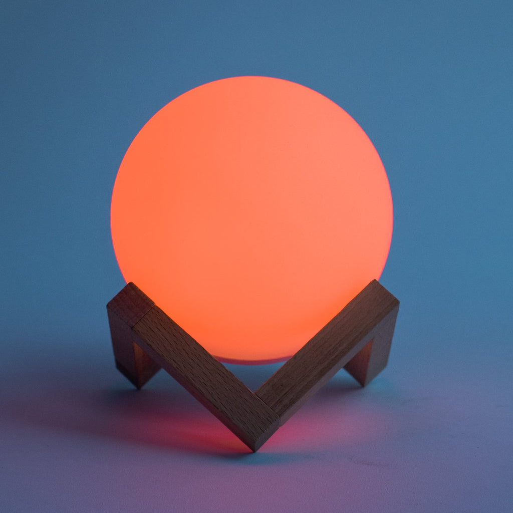 Color Changing LED Orb Light