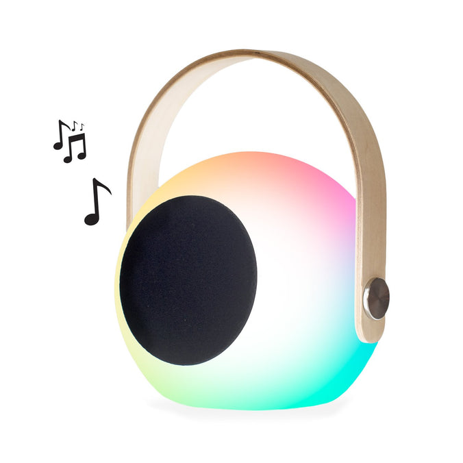 Vibe Bluetooth® Speaker + LED Colour-Changing Lantern