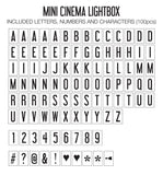 My Cinema Lightbox - Mini Lightbox (Classic)