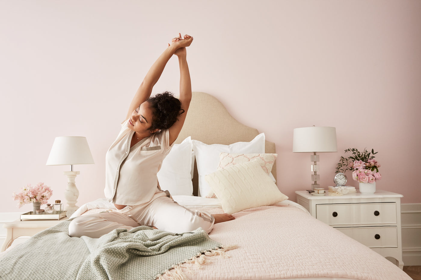 Strike a Pose: 47 Yoga Moves You Can Do in Bed  Allswell