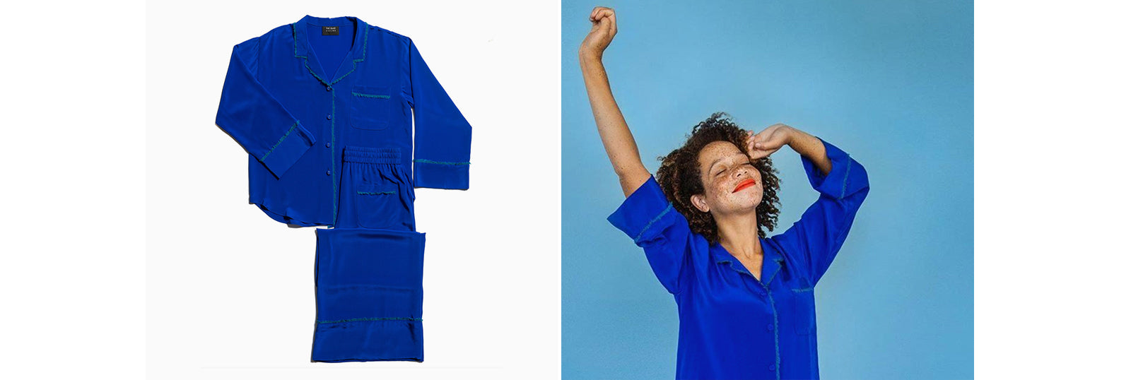 Blue Pajama Sets