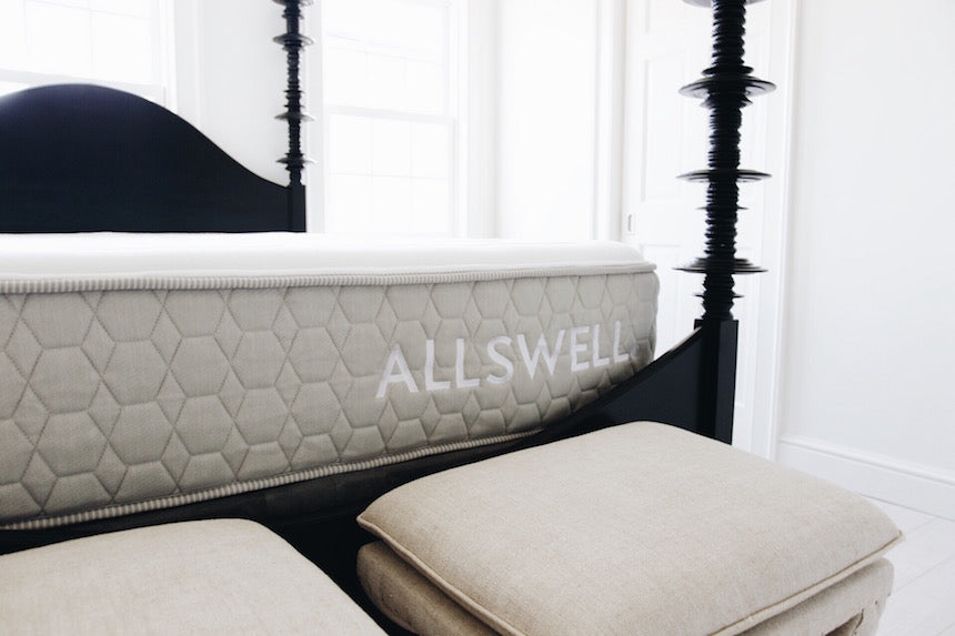 Allswell mattress for a guest room