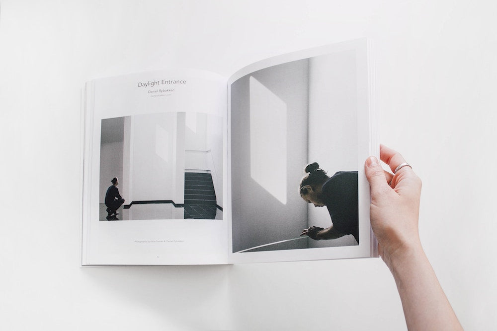 reading an interior design book