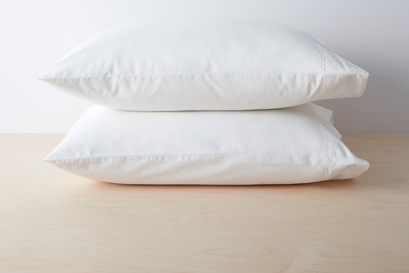 Organic Garment Wash Percale Pillowcase Pair