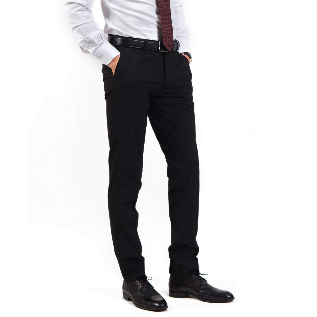 Pantaloni Confex - Slim-Fit - Royal Cut - Super Black