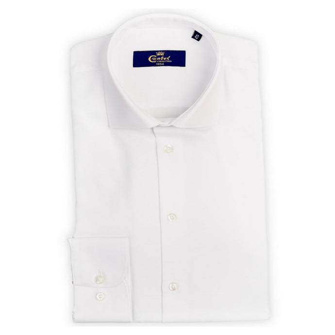 Cămașă Confex - Slim-Fit - White Oxford
