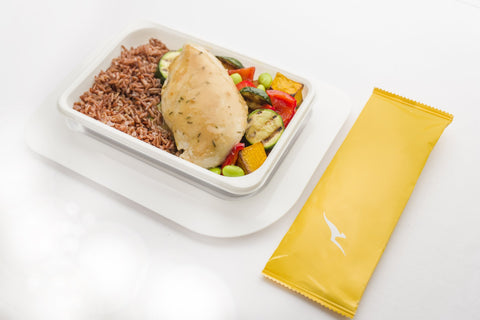 QANTAS CHANGED ITS IN FLIGHT MENU BECAUSE IT CARES ABOUT YOUR GUT