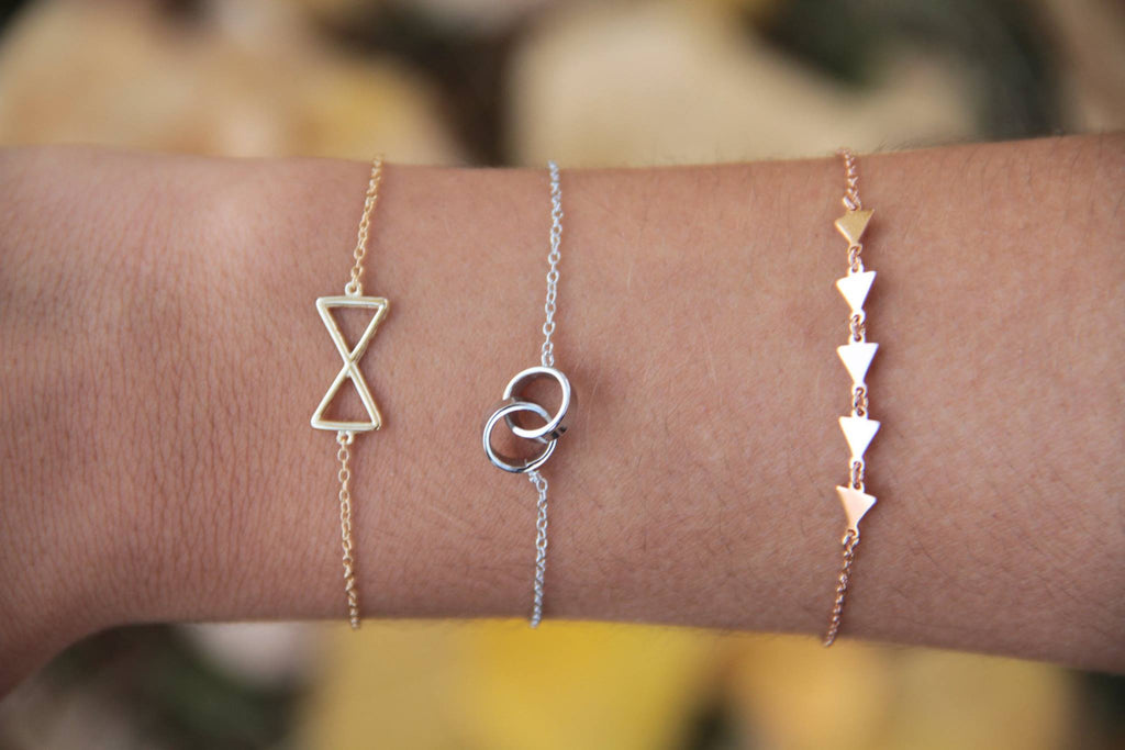 Mix and Match pulseras plata de ley