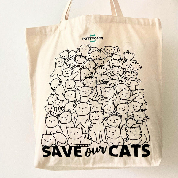 Save The Cats Tote
