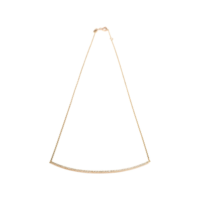 Kismet Long Bar Diamond Necklace