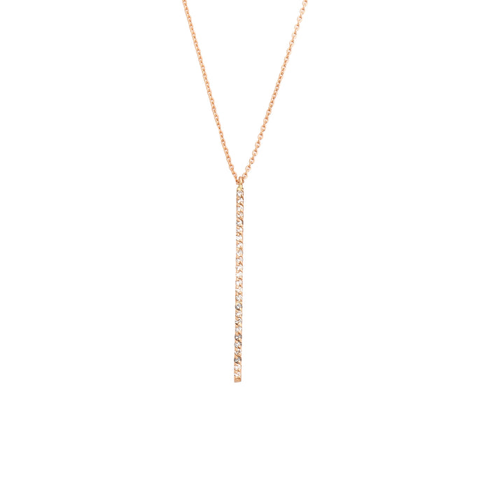 Kismet Lumiere Stick Diamond Necklace