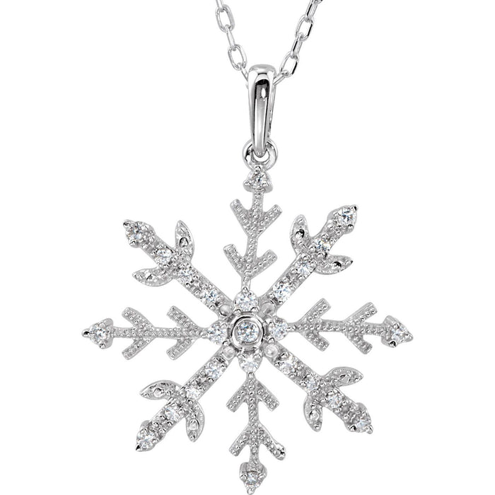 CZ Snow Necklace
