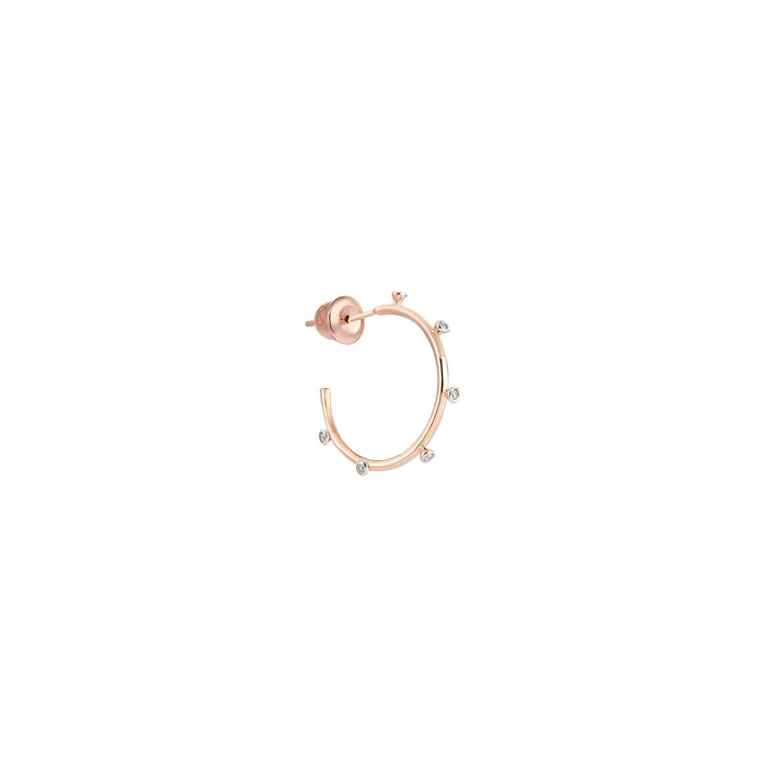 Kismet Diamond Burst Small Hoop Earring