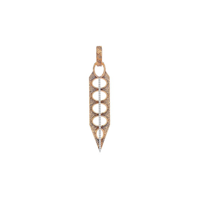 Diamond Loop Drop Earring
