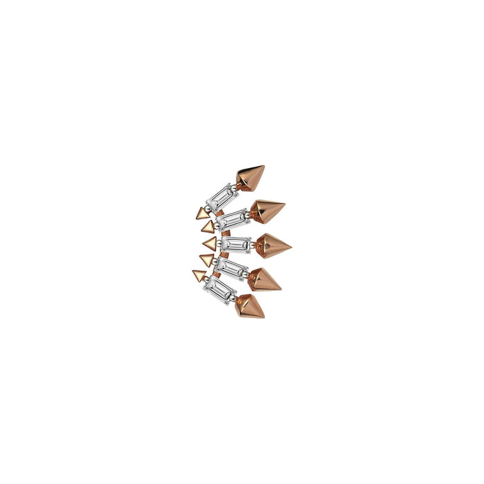 Five Arrows Rose Gold Earring