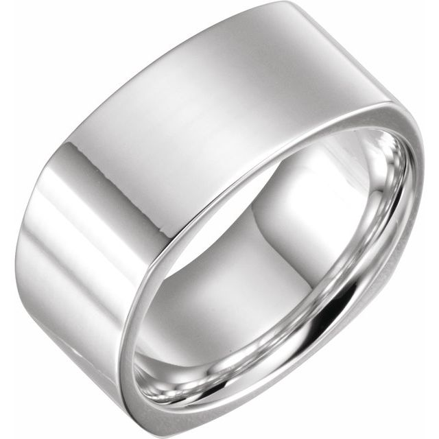 Squared Sterling Ring