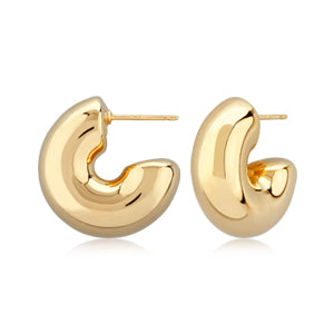Bubble Hoop Small Earrings