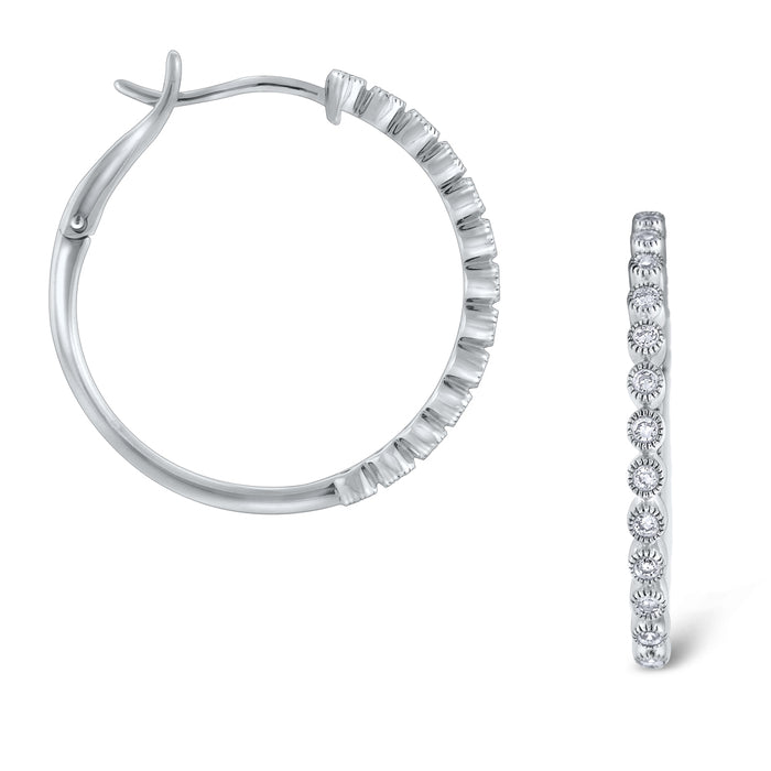 Lightweight Diamond Hoops