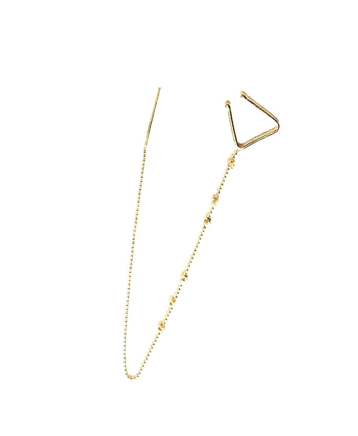 HGen2 Pazar Pull-Through Asymmetric Earring