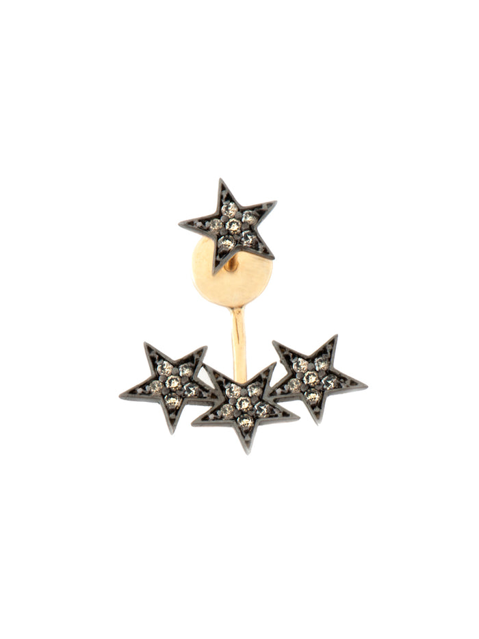 Kismet Drop 3 Star Earring
