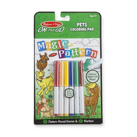 On The Go-Pets Coloring Pad